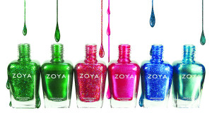 Zoya nail polish bottles at Nail Pampering Parlour